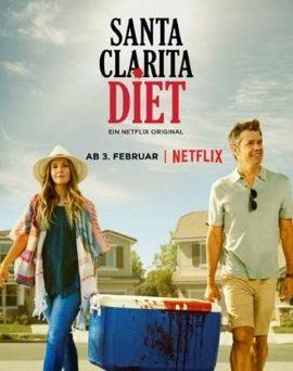 """Das Hauptplakat von """"Santa Clara Diet"""" (© Netflix)"""