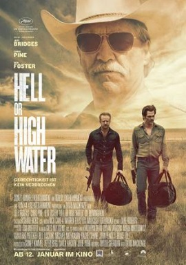 """Das Kinoplakat von """"Hell Or High Water"""" (© Paramount Pictures Germany)"""