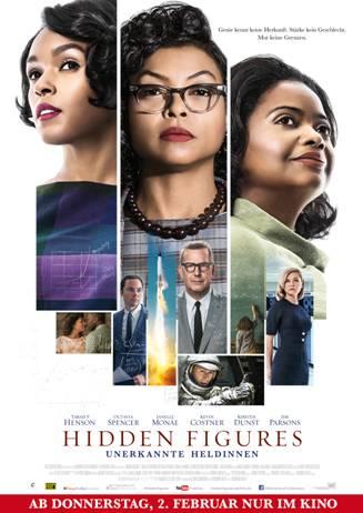"""Das Plakat von """"Hidden Figures"""" (© Fox Deutschland)"""