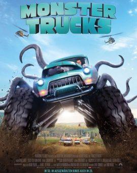 """Das Kino-Plakat von """"Monster Trucks"""" (© Paramount Pictures Germany)"""