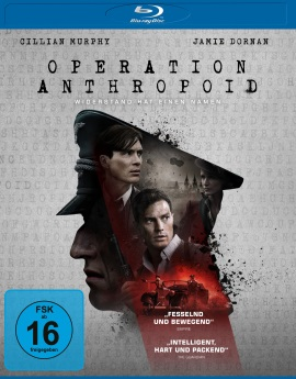 "Das Blu-ray-Cover von ""Operation Anthropoid"" (© Universum Film)"