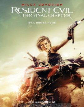 "Das Hauptplakat von ""Resident Evil 6 - The Final Chapter"" (© Constantin Film)"