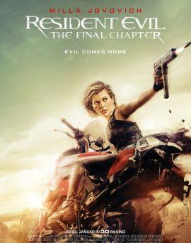 """Das Hauptplakat von """"Resident Evil 6 - The Final Chapter"""" (© Constantin Film)"""