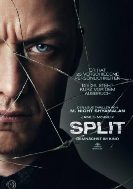"Das Kino-Plakat von ""Split"" (© Universal Pictures Germany)"