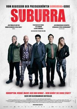 """Das Kino-Plakat von """"Suburra"""" (© Koch Films)"""