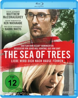 "Das Blu-ray-Cover von ""The Sea of Trees"" (© Ascot Elite)"