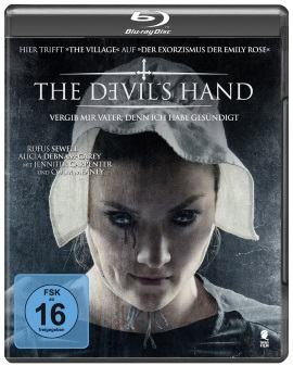 "Das Blu-ray-Cover von ""The Devil's Hand"" (© Tiberius Film)"