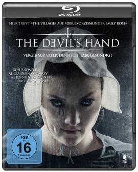 """Das Blu-ray-Cover von """"The Devil's Hand"""" (© Tiberius Film)"""