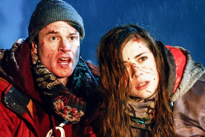 Eigentlich wollten Branka und Steve nur Snowboarden (© Capelight Pictures)