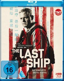 """Das Blu-ray-Cover der dritten Staffel von """"The Last Ship"""" (© Polyband)"""