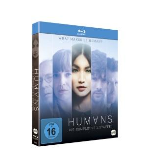 """Das Blu-ray-Cover der ersten Staffel von """"Humans"""" (© justbridge entertainment)"""