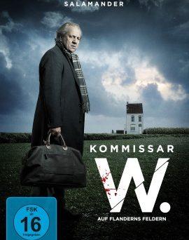 """Das DVD-Cover von """"Kommissar W. - Auf Flanderns Feldern"""" (© Polyband)"""