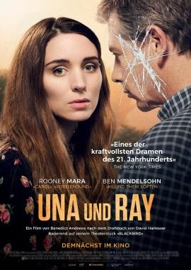"""Das Hauptplakat von """"Una und Ray"""" (© Weltkino)"""