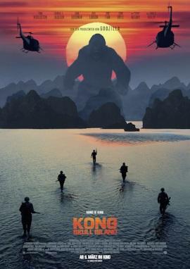 "Das Kinoplakat von ""Kong: Skull Island"" (© Warner Bros Pictures Germany)"