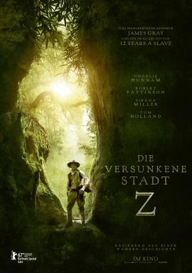 """Das Hauptplakat von """"Die versunkene Stadt Z"""" (© StudioCanal)"""