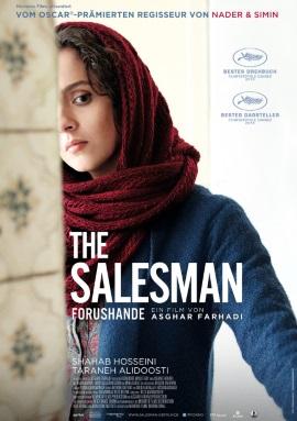 "Das Kino-Plakat von ""The Salesman"" (© Prokino)"