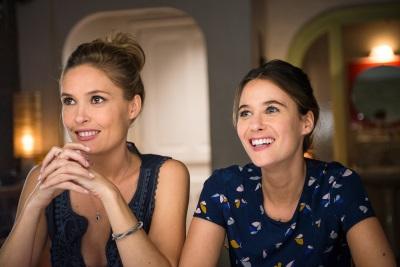 Zwei Schwestern beim Wand-Date (© Pandastorm Pictures)