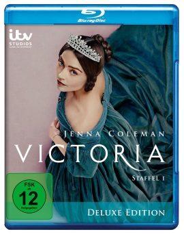 """Das Blu-ray-Cover der ersten Staffel """"Victoria"""" (© Edel)"""
