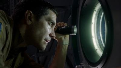 Was sieht David da draußen? (© Sony Pictures Germany)
