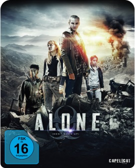 "Das Blu-ray-Cover von ""Alone"" (© Capelight Pictures)"