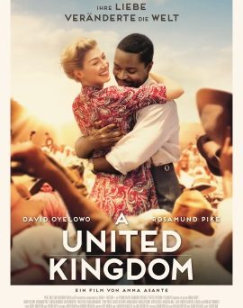 "Das Kinoplakat von ""A United Kingdom"" (© Alamode Film)"
