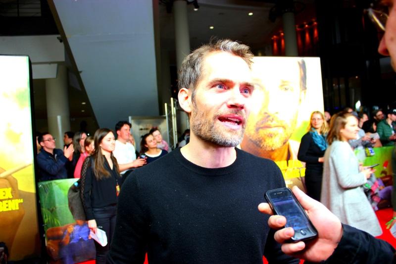 Christian Zübert beantwortet unsere Fragen (© Leonie T.)