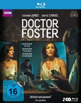 """Das Blu-ray-Cover der ersten Staffel """"Doctor Foster"""" (© Polyband)"""
