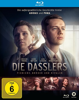 "Das Blu-ray-Cover von ""Die Dasslers"" (© justbridge entertainment)"