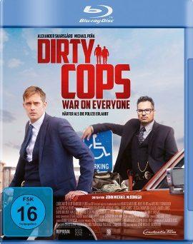 "Das Blu-ray-Cover von ""Dirty Cops - War on Everyone"" (© Constantin Film)"