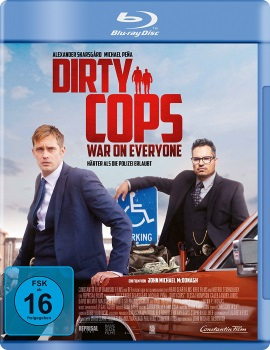 "Das Blu-ray-Cover von ""Dirty Cops - War on Everyone"" (© Constantin Film)"