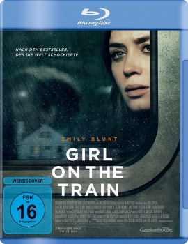 "Das Blu-ray-Cover von ""Girl on the Train"" (© Constantin Film)"