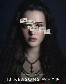 """Das Hannah-Charakterposter von Hannah zu """"Tote Mädchen lügen nicht"""" (© Netflix)"""