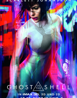 """Das Hauptplakat von """"Ghost in the Shell"""" (© Paramount Pictures Germany)"""