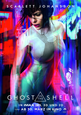"Das Hauptplakat von ""Ghost in the Shell"" (© Paramount Pictures Germany)"