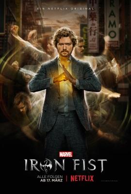 """Das Plakat von """"Iron Fist"""" (© Netflix)"""