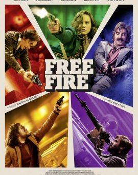 """Das Hauptplakat von """"Free Fire"""" (© Splendid Film)"""