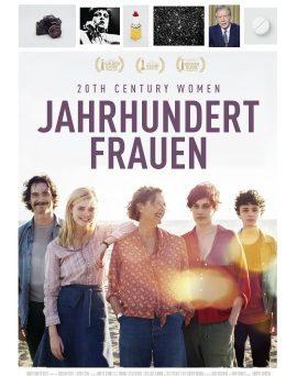 """Das Kinoplakat von """"Jahrhundertfrauen"""" (© Splendid Film)"""