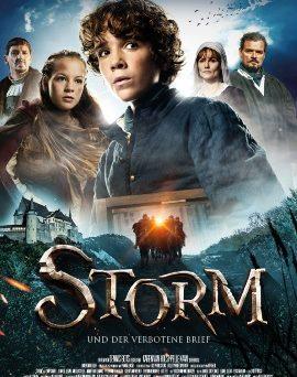 """Das Hauptplakat von """"Storm und der verbotene Brief"""" (© Farbfilm Verleih)"""