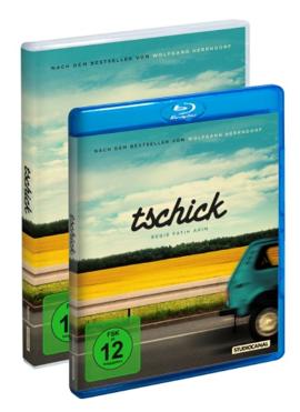 """Die DVD und die Blu-ray von """"Tschick"""" (© StudioCanal)"""