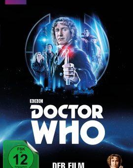 "Das Blu-ray-Cover von ""Doctor Who - Der Film"" (© Pandastorm Pictures)"