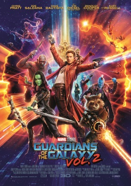 "Das Hauptplakat von ""Guardians of the Galaxy 2"" (© 2017 Walt Disney Studios/Marvel)"