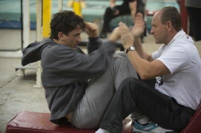 Vinny arbeitet mit seinem Coach Kevin an einem unvorstellbaren Comeback (© © 2017 Sony Pictures Releasing GmbH)