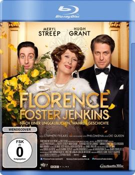 """Das Blu-ray-Cover von """"Florence Foster Jenkins"""" (© Constantin Film)"""