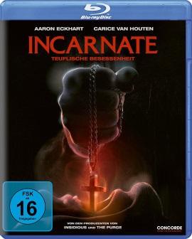"""Das Blu-ray-Cover von """"Incarnate - Teuflische Besessenheit"""" (© Concorde Home Entertainment)"""