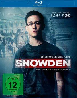 """Das Blu-ray-Cover von """"Snowden"""" (© Universum Film)"""