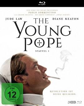 """Das Blu-ray-Cover der ersten Staffel von """"The Young Pope"""" (© Polyband)"""