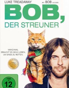"Das DVD-Cover von ""Bob, der Streuner"" (© Concorde Home Entertainment)"