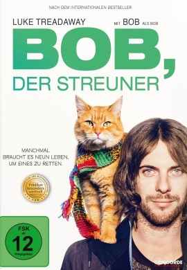 "Das DVD-Cover von ""Bob, der Streuner"" (© Concorde Home Entertainment)"