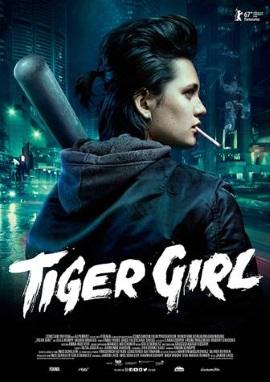 """Das Hauptplakat von """"Tiger Girl"""" (© Constantin Film)"""