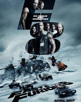 "Das Hauptplakat von ""Fast & Furious 8"" (© Universal Pictures Germany)"